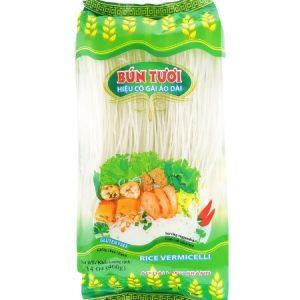 BKBH0025 - Ao Dai Lady - Rice Vermicelli 400 gram - Bun Tuoi - Datafood Vietnamese food exporter