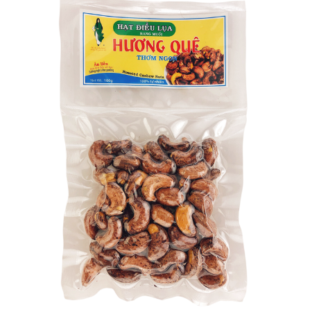 Datafood Roasted Cashew Nuts Hat Dieu Lua Rang Muoi