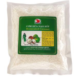 CDCG0650 - Desiccated Coconut - Com Dua Nao Say -Datafood Vietnamese food exporter