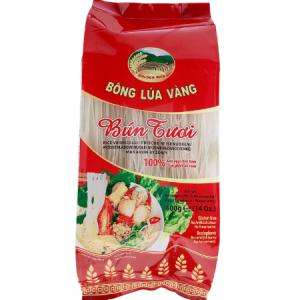 BTBV0049 - Golden Rice - Rice Vermicelli - Bong Lua Vang - Bun Tuoi - Datafood Vietnamese food exporter