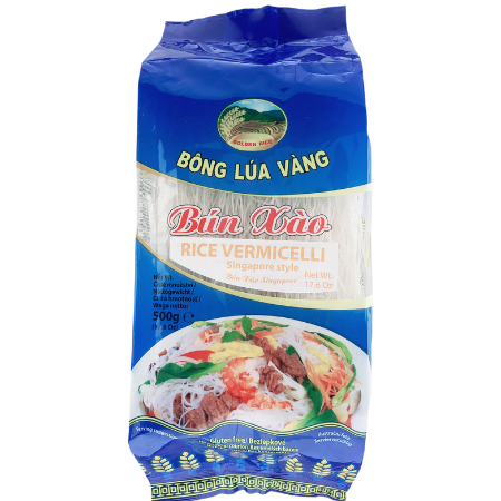 BXBV0142 - Golden Rice -Rice Vermicelli Fried Style (Singapore style) - Datafood Vietnamese food exporter