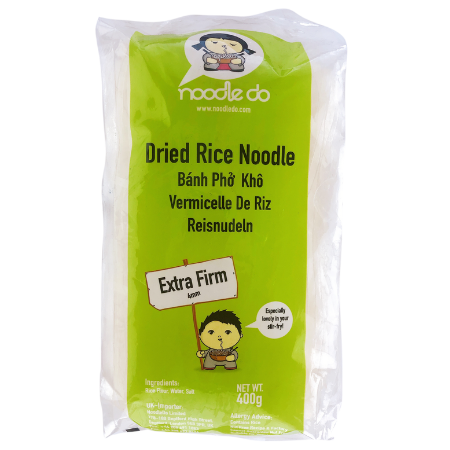 PXND0016 - Noodle Do- Dried Rice Noodle (for stir fry) - Banh Pho Kho - Datafood Vietnamese food exporter