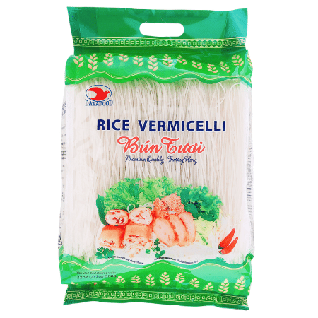 BTDT0616 - Rice Vermicelli 908 gram - Bun Tuoi - Datafood Vietnamese food exporter